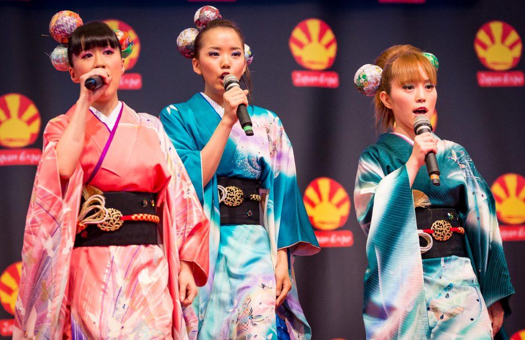 Le groupe Mizmo était présent à Japan Expo.