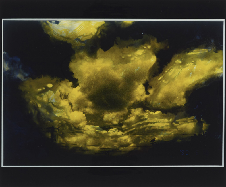 Scènes de ciel (Sky Scenes) 1991 / 2000 impression directe RP H. 28 cm ; L. 42,3 cm Taka Ishii Gallery, inv. NA-PH_AbA_018 © Nobuyoshi Araki / Courtesy Taka Ishii Gallery