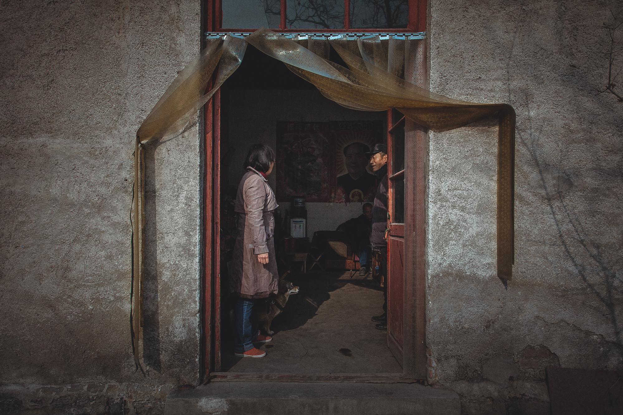 Visite d'un refuge à Jinan