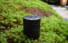 gravure sur bois laquée Nyodo - DENSAN - Maison Wa - bd -